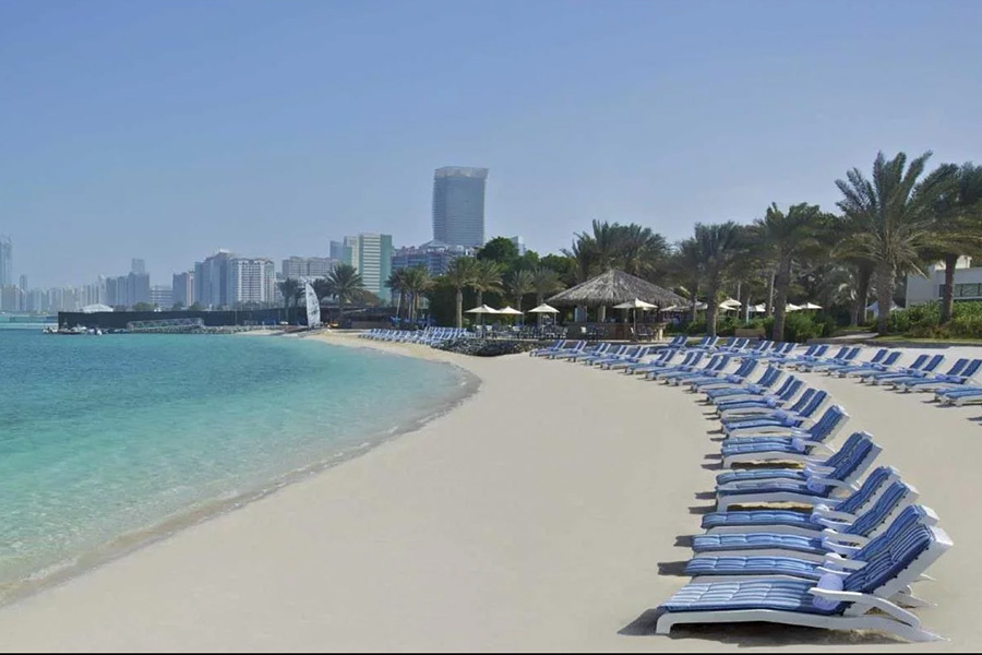 Al Bateen Beach in Abu Dhabi