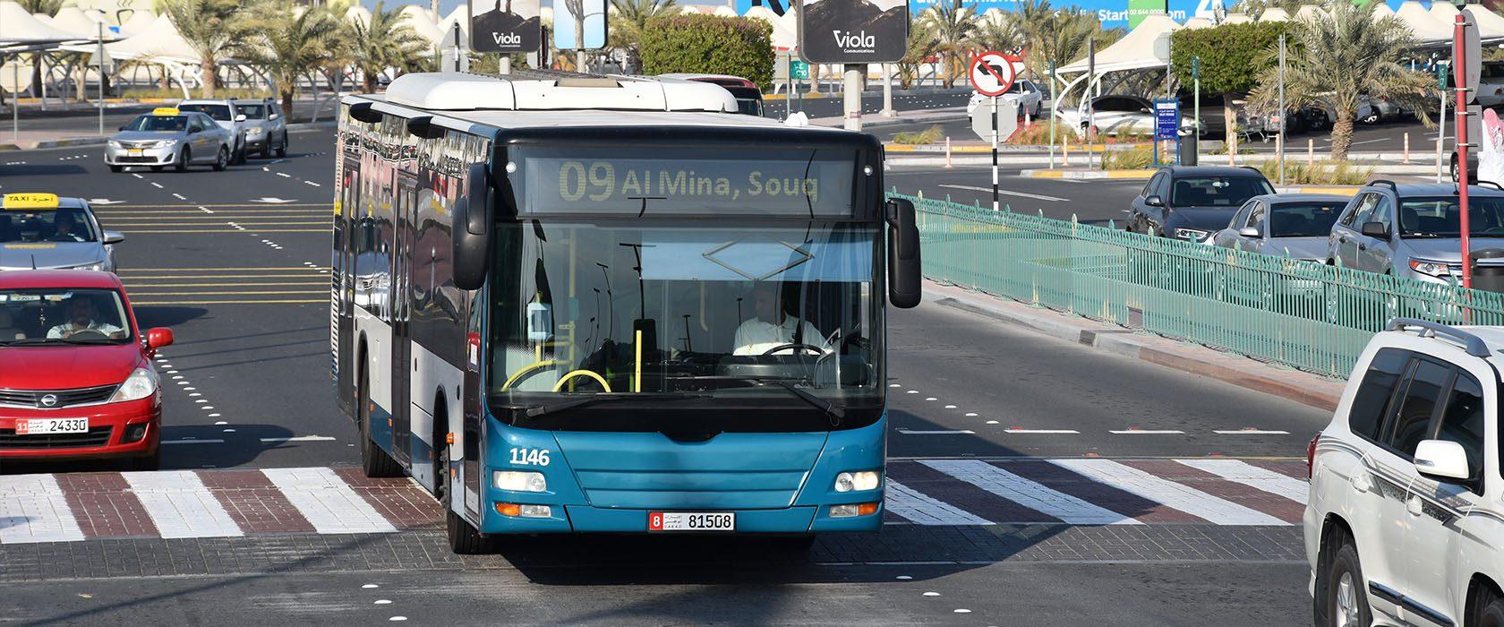 Bussen in Abu Dhabi