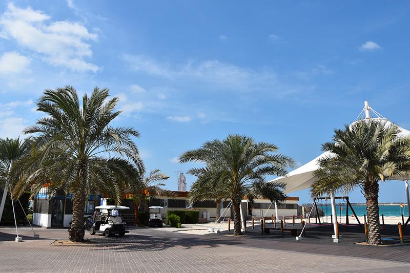 De Abu Dhabi Corniche Road