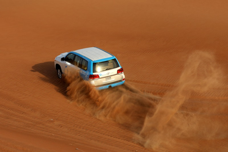 Desert safari in Abu Dhabi
