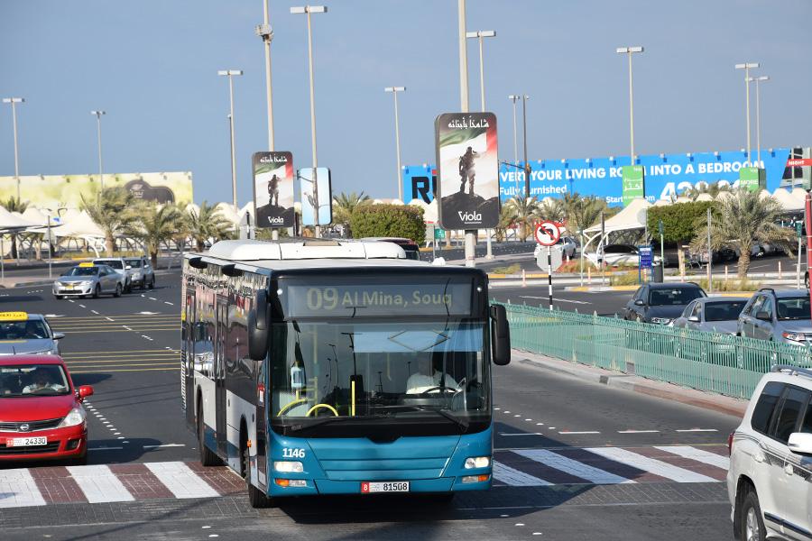 Auto rijden in Abu Dhabi
