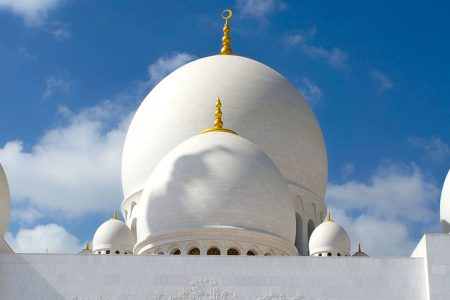 De Sheikh Zayed moskee in Abu Dhabi