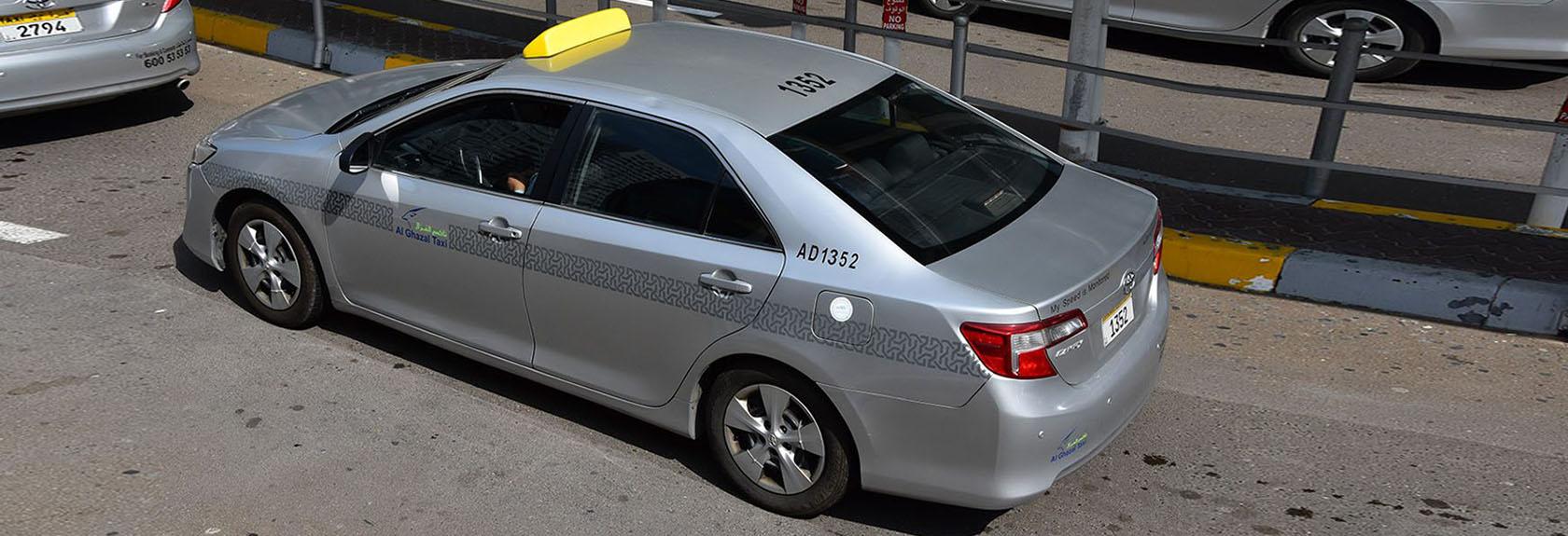 Taxi in Abu Dhabi